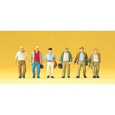 Preiser 10366 - Male Commuters 6/
