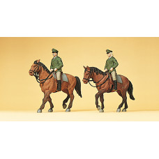 Preiser 10390 - German Mounted Police 2/