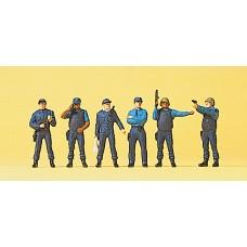 Preiser 10396 - US SWAT Policemen 6/