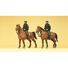 Preiser 10397 - US Mounted Police Mdrn 2/