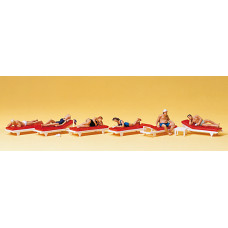 Preiser 10429 - Sunbathers on Lounges 6/