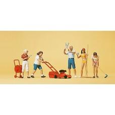 Preiser 10464 - Hobby Gardeners 5/