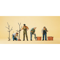 Preiser 10466 - Men Planting Trees 4/