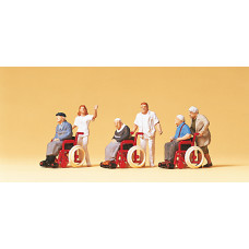 Preiser 10479 - Elderly In Wheelchairs 6/