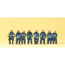 Preiser 10483 - Firemen Driver & Crew 8/