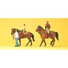 Preiser 10501 - Riders w/Horses #2