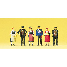 Preiser 10509 - Swiss National Costumes