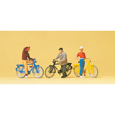 Preiser 10515 - Cyclists Waiting 3/