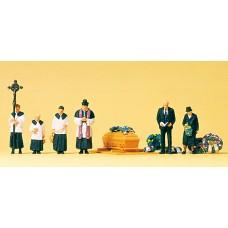 Preiser 10520 - Funeral, Catholic