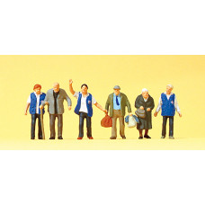 Preiser 10544 - Travelers Aid 6/