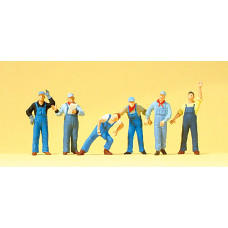 Preiser 10547 - US Railway Workers 6/