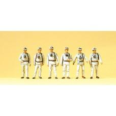 Preiser 10555 - Miners w/Masks 6/