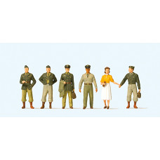 Preiser 10594 - 1950's US Soldiers 6/