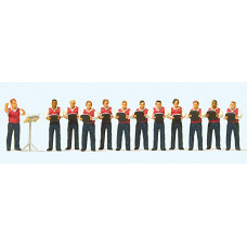 Preiser 10599 - Male Choir 12/