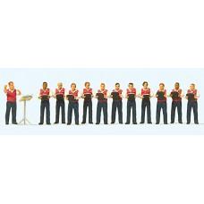 Preiser 10599 - Male Choir 12/