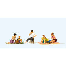 Preiser 10617 - Picnicers & Accessories