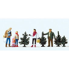 Preiser 10627 - Christmas Tree Sales