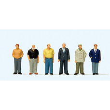 Preiser 10634 - Standing Men 6/