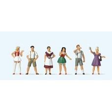 Preiser 10674 - Standing Drinkers/Costume