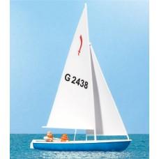Preiser 10679 - Sailors Sailing Boat #3