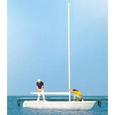 Preiser 10680 - Sailors Unrigging Sail