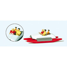Preiser 10683 - Family In Pedal Boat #2