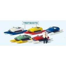 Preiser 10685 - Pedal Boat Rental