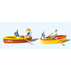 Preiser 10686 - Rowing Boats 2/