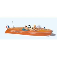 Preiser 10689 - Motor Boat w/Crew #2