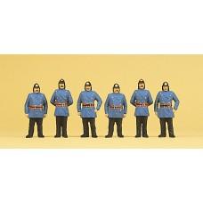Preiser 12102 - 1900 firemen