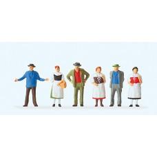 Preiser 14062 Workers Standing