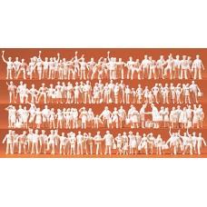 Preiser 16325 - Figures asst unpntd  120/