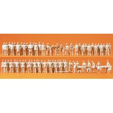 Preiser 16339 - Unpainted figures     60/