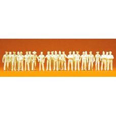 Preiser 16345 - Uniformed people comb kit