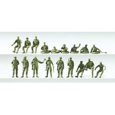 Preiser 16510 - Military People Ast#1 18/