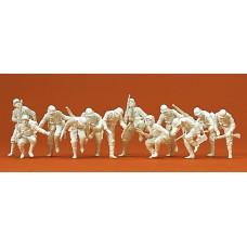 Preiser 16528 - Grmn Riflemen Ext Tnk 12/