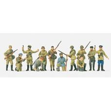 Preiser 16530 - USSR Infantry Men 12/