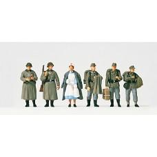 Preiser 16542 - German Inf Home Leave 6/