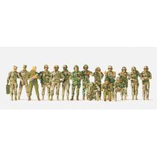 Preiser 16548 - US Tank Crew Unptd 16/