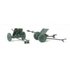 Preiser 16549 - 3.7cm PAK L/45 Cannon 2/