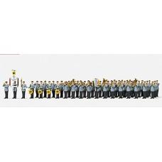 Preiser 16550 - Military Band Ger Unpntd