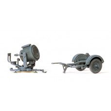 Preiser 16566 - 60cm Antiaircraft Light