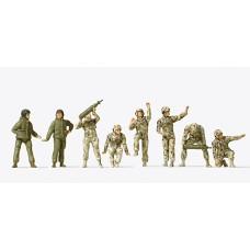 Preiser 16567 - US Army Tnk Crew Unptd 8/