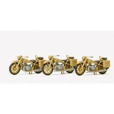 Preiser 16572 - Motorcycle BMW R12 Unp 3/