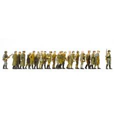 Preiser 16577 - Russn POWs Unptd 19/