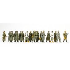 Preiser 16578 - German POWs - Unptd 17/