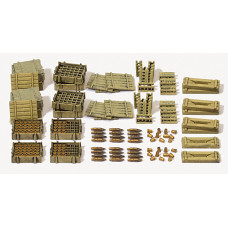 Preiser 16603 - Howitzer Ammo & Crates