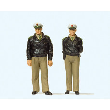 Preiser 44900 - Standng FRG Police Grn 2/
