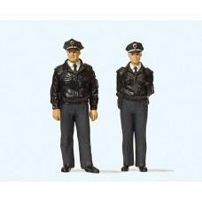 Preiser 44909 - Standng FRG Police Blu 2/