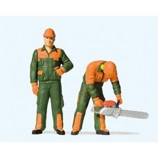 Preiser 44912 - Modern Lumberjacks #1